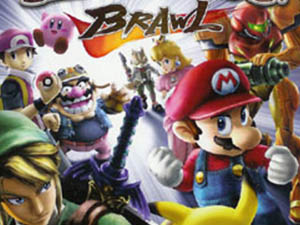 Students compete for a prize at 'Super Smash Brothers' competition