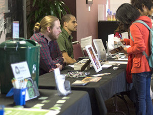 Students cautioned to preserve the environment at annual Campus Sustainability Day