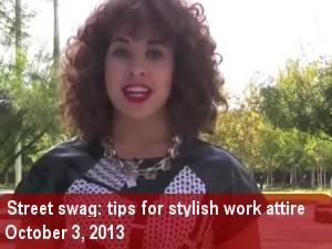 Street Swag- how to dress in style for an interview
