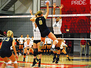 Womens Volleyball: Matadors defeat UCI in four sets, jump into first in Big West