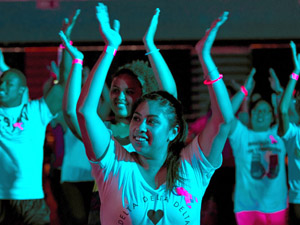 CSUN's third annual zumbathon raises money for breast cancer research