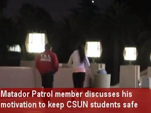 Matador Patrol member explains how he got into the safety service
