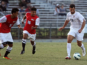 Men's Soccer: No.6 CSUN battles UCR to scoreless draw