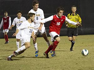 Men's Soccer: No. 5 CSUN comes up short, falls to UC Irvine 1-0