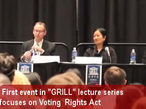 Four panelist lecture series focuses on Voting Rights Act