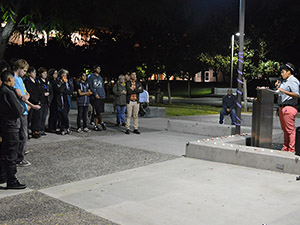 Organizations remember the lives lost to suicide at LGBTQA Candlelight Vigil