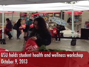 USU holds event to promote student health and wellness