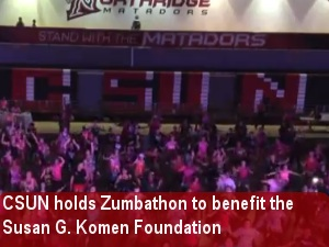 CSUN holds Zumbathon to raise money for breast cancer