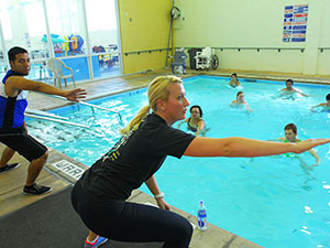 Brown Center celebrates 10 years of aquatic healing