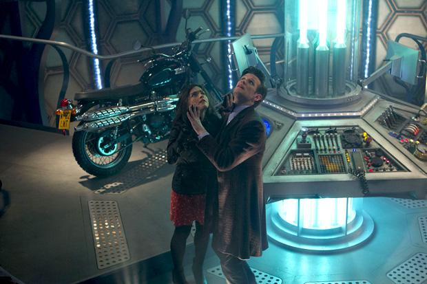 """The """"Impossible Girl"""" and the Doctor have a new adventure in the 50th anniversary.  Photo credit OF ADRIAN ROGERS, © BBC/BBC WORLDWIDE"""