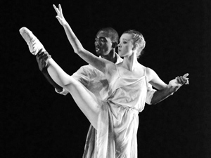 Graduate students and faculty perform contemporary dances at 'Colaboratoria'