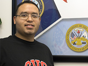 From soldier to student: Veteran finds a home at CSUN