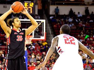 Men's Basketball: Matadors drop second straight, fall to Bulldogs 80-64