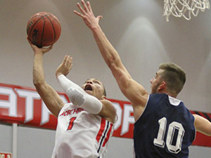 Men's Basketball: Matadors survive late rally, drop HIU 86-74 in season opener