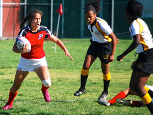 Student athlete finds a new goal in women's rugby