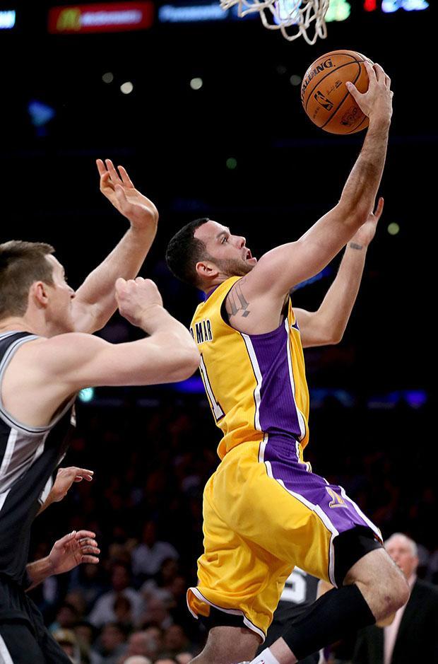 San Antonio at LA Lakers