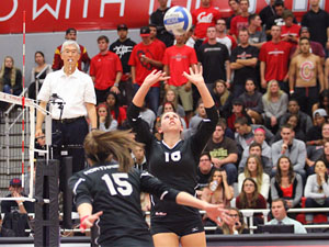 Women's Volleyball: No. 21 CSUN drops home finale to UCSB