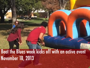 Beat the Blues week begins with obstacle course event