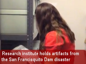 Research institute artifacts shed light on dam disaster
