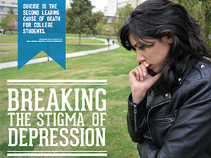Studies show depression affects academic progress, causes stress and chemical imbalance