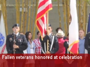 Fallen men and women honored at Veteran's Day Celebration