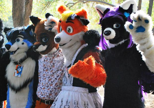 Some furries choose to have more realistic qualities but still maintain many anthropomorphic features such as intelligence, walking on two legs, and human speech. Photo credit: Crystal Lambert / Contributor