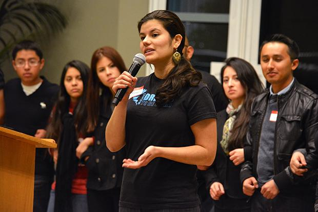 Undocumented students and their allies urge CSUN for a resource center