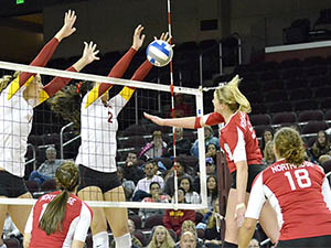 Women's Volleyball: CSUN tournament hopes dashed by Trojans