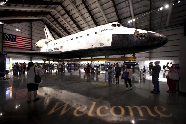 Shuttle Endeavour on Display