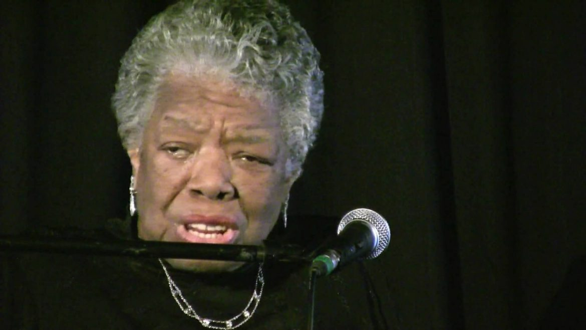 Updated: Dr. Maya Angelou delivers message of hope, inspriation