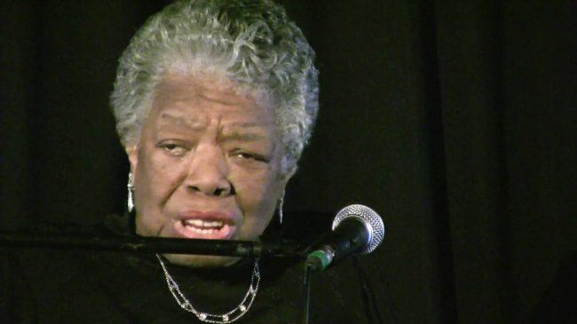 Updated: Dr. Maya Angelou delivers message of hope, inspriation