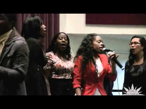 CSUN gospel choir performs on campus