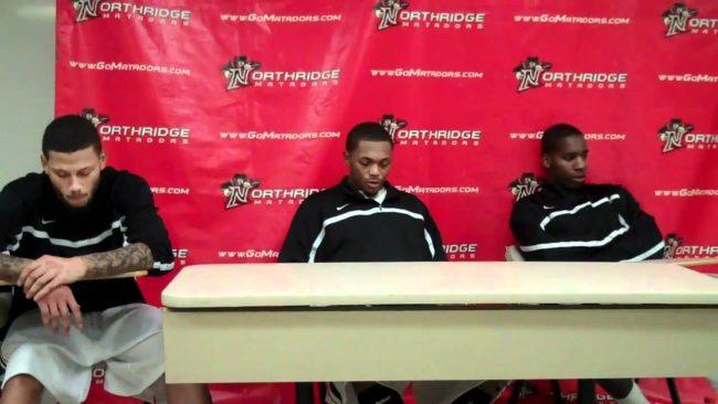 CSUN men's basketball: Matadors reveal frustration after second half meltdown