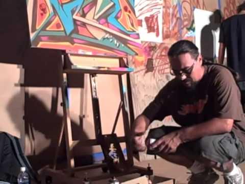 Graffiti Artist Man One comes to CSUN