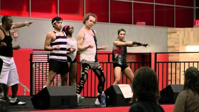 """""""Lecturecise"""" with Richard Simmons on National Fitness Day"""