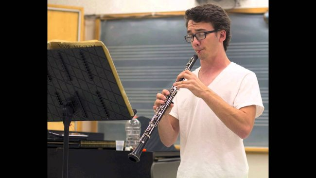 Oboist crafts his own sound