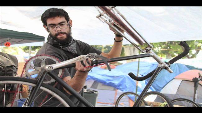 Occupy LA: Bikescum Co-op