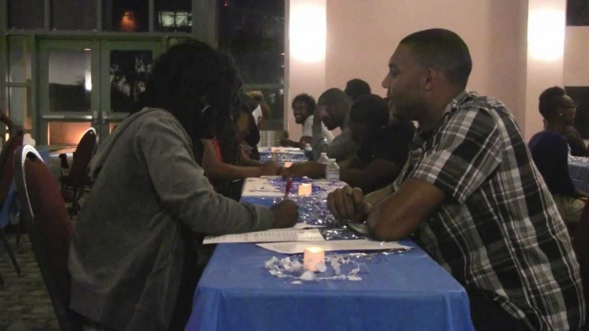 Sorority holds speed dating event to raise money