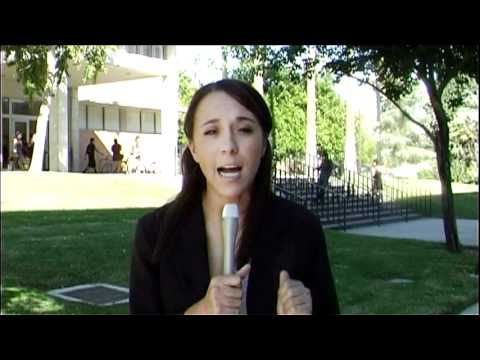 Valley View News; Courtney Clavon - LA Antiwar Protest