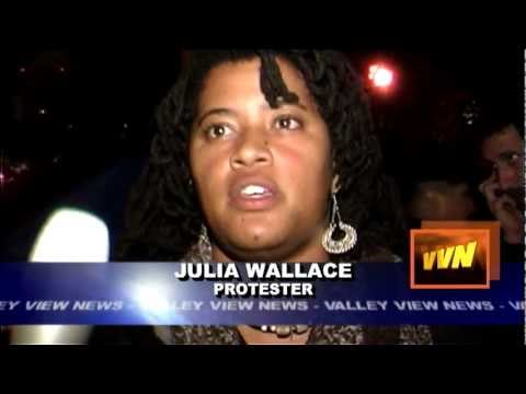Valley View News; Darrin Johnson - Occupy LA