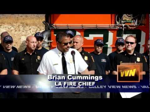 Valley View News; Jack Bryant - LAFD Preparedness