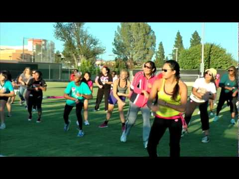 Valley View News; Kristianna Gross - Zumbathon
