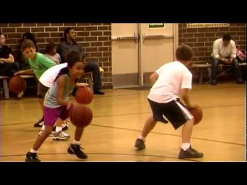Valley View News; Taelor Cage - Basketball Clinic