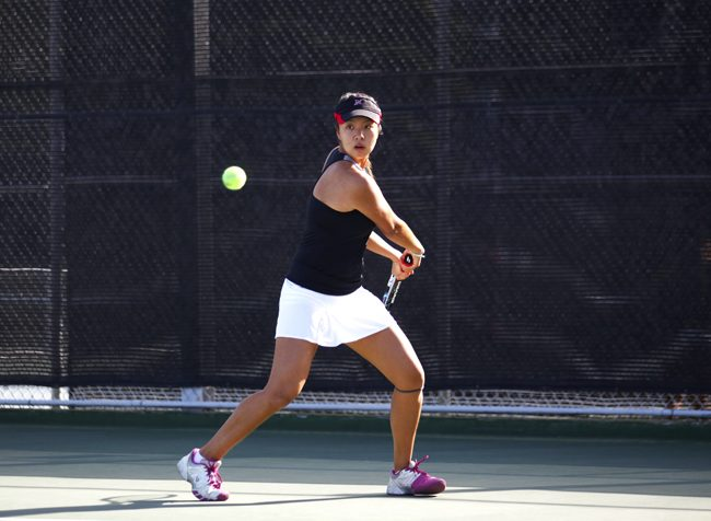 Women's Tennis: New-look Matadors open season at home with a pair of wins