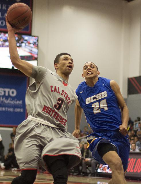 Men's Basketball: Matadors upset UCSB In overtime thriller