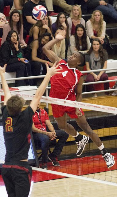 Men's Volleyball: Lenore's freshman season turning heads