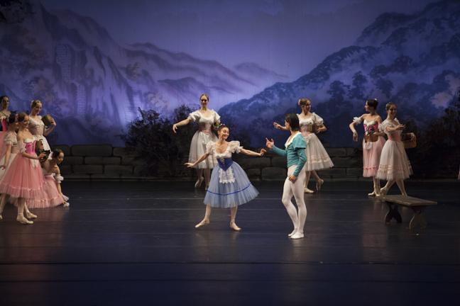 Moscow Festival Ballet performs Giselle at the VPAC on Thursday, Feb. 13, 2014 in Northridge, Calif. (Photo Credit: David J. Hawkins / Photo Editor)