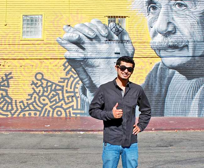 CSUN alumnus Levi Ponce makes a name for himself as a muralist