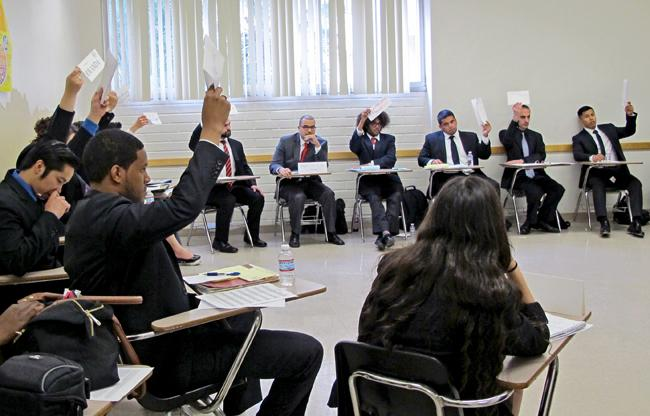 Students participate in first Model United Nations-Model African Union