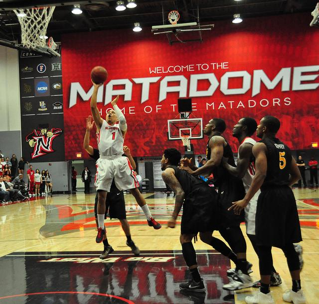 Men's Basketball: Matadors conclude regular season with win on senior night